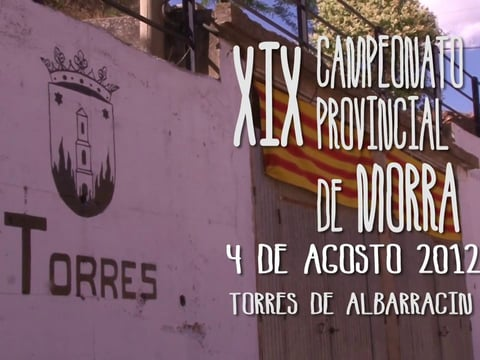 XIX Campeonato Provincial de Morra - Realizado por Collapse Visuals